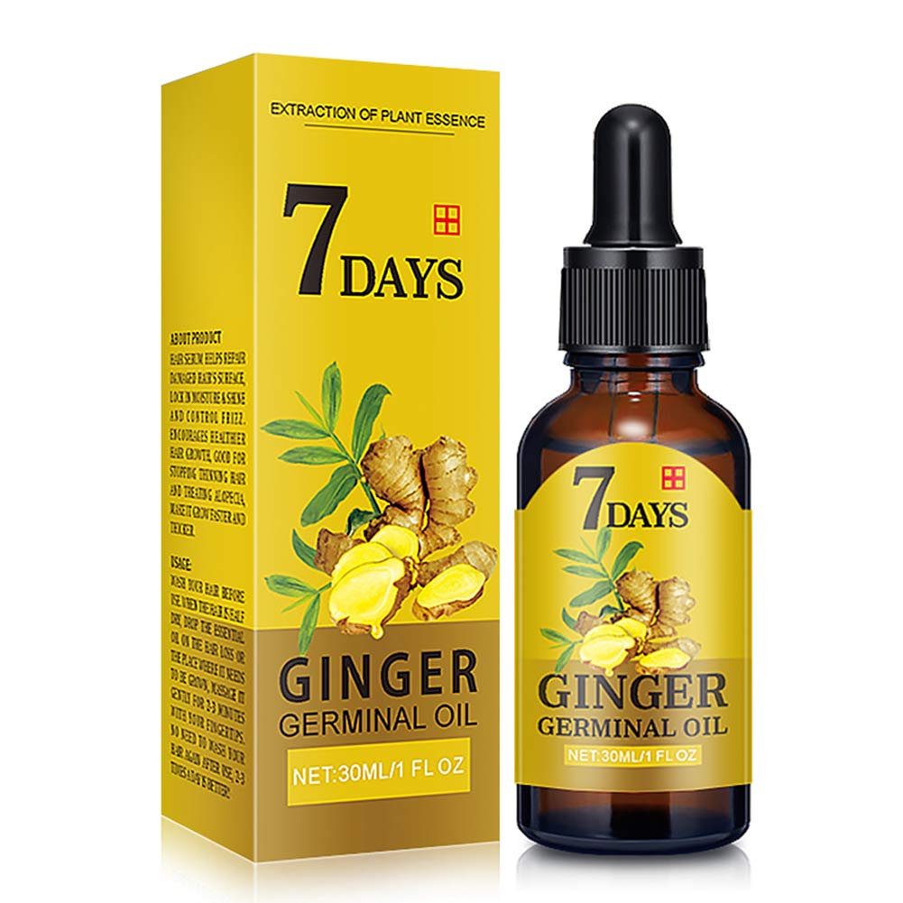 DAGEDA Upgrade Ginger Hair Growth Oil, Hair Growth Treatment for Women Men With Thinning Hair Loss Serum for Healthier, Thicker, Longer Hair, Repairs Hair Follicles, Promotes Hair Regrowth(30ml)