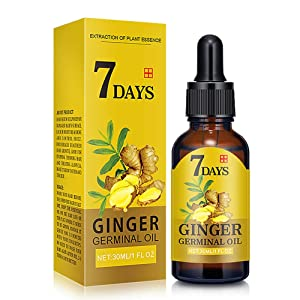 DAGEDA Upgrade Ginger Hair Growth Oil, Hair Growth Treatment for Women Men With Thinning Hair Loss Serum for Healthier, Thicker, Longer Hair, Repairs Hair Follicles, Promotes Hair Regrowth(30ml)