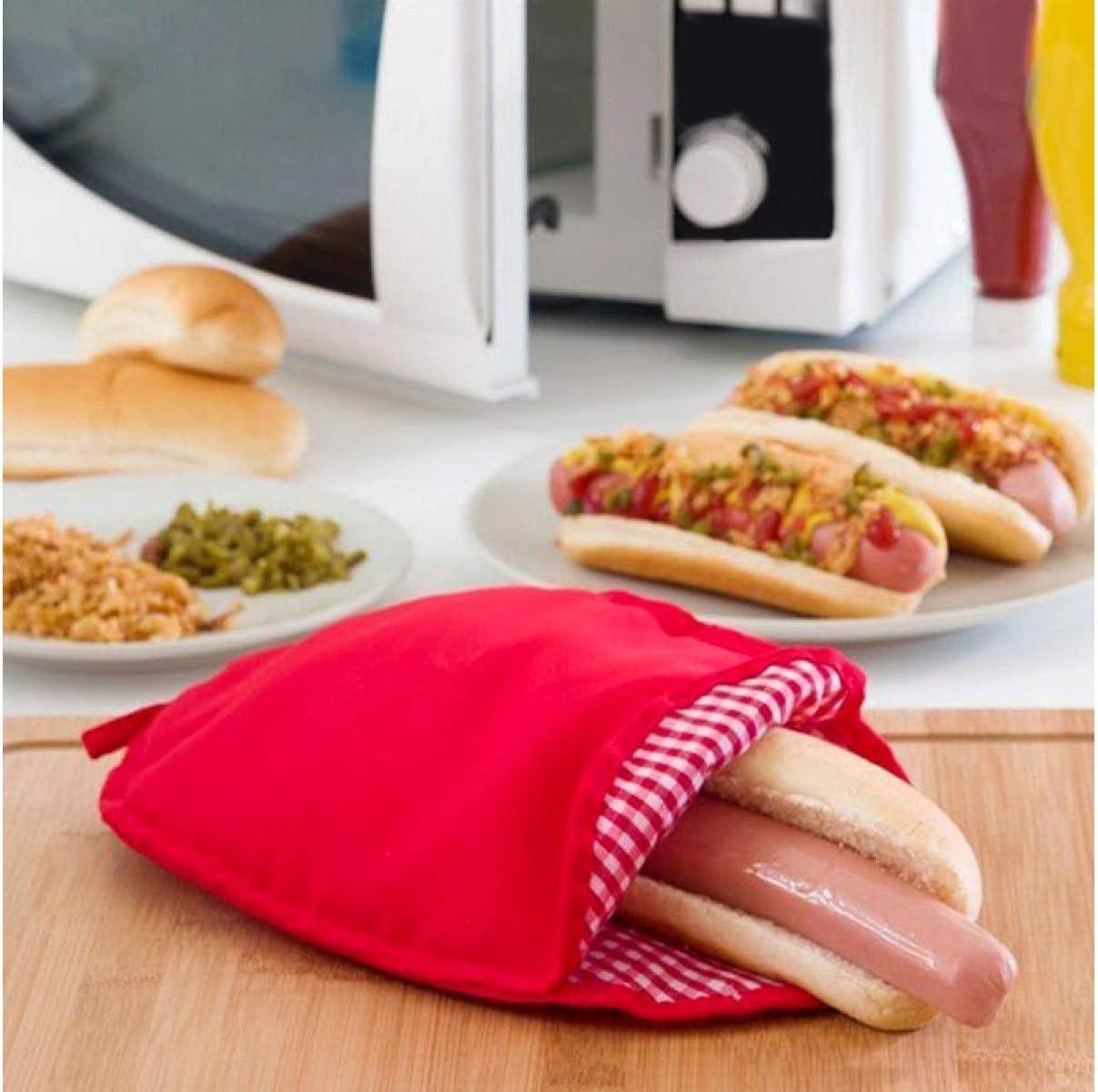 Takestop/® Bolsa Saco Reutilizable para cocinar patatas ideal Potato Express Cocedora de 4/minutos para microondas o horno