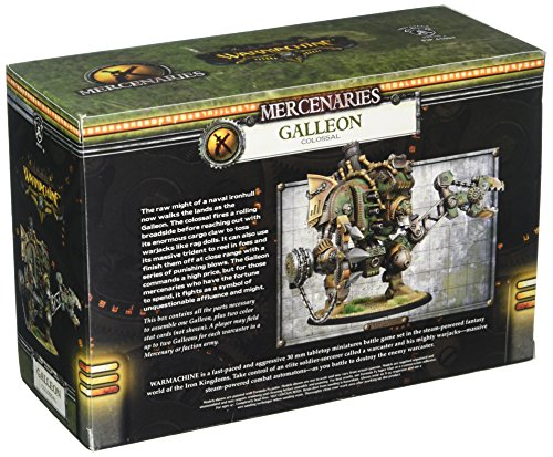 Privateer Press - Warmachine - Mercenary: Galleon Colossal Model Kit 4