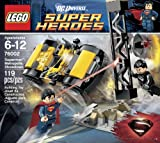 LEGO Superheroes Superman Metropolis Showdown (119pcs) Figures Building Block Toys