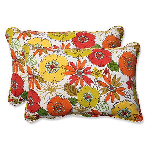 Pillow Perfect Over Sized Rectangular Multicolored