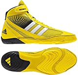 adidas Response 3.1 Wrestling Shoes - Bright Yellow/Silver/Black - 5.5