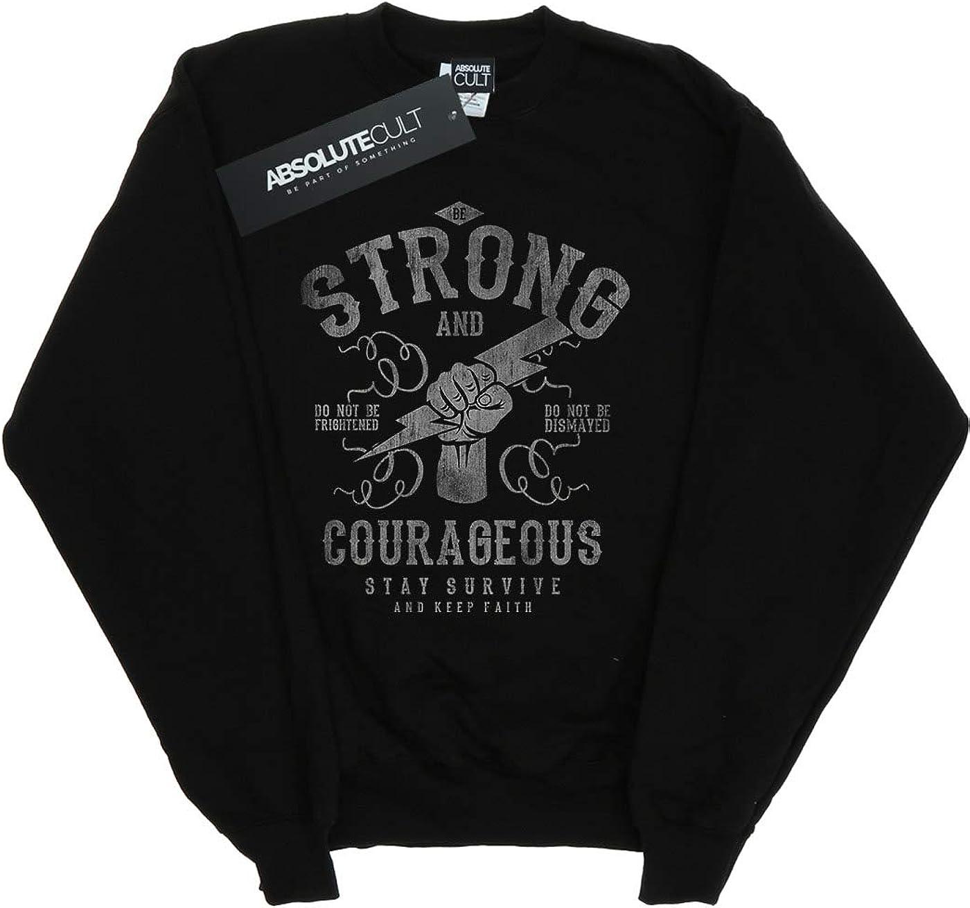 Drewbacca Girls Be Strong Lightning Bolt Sweatshirt