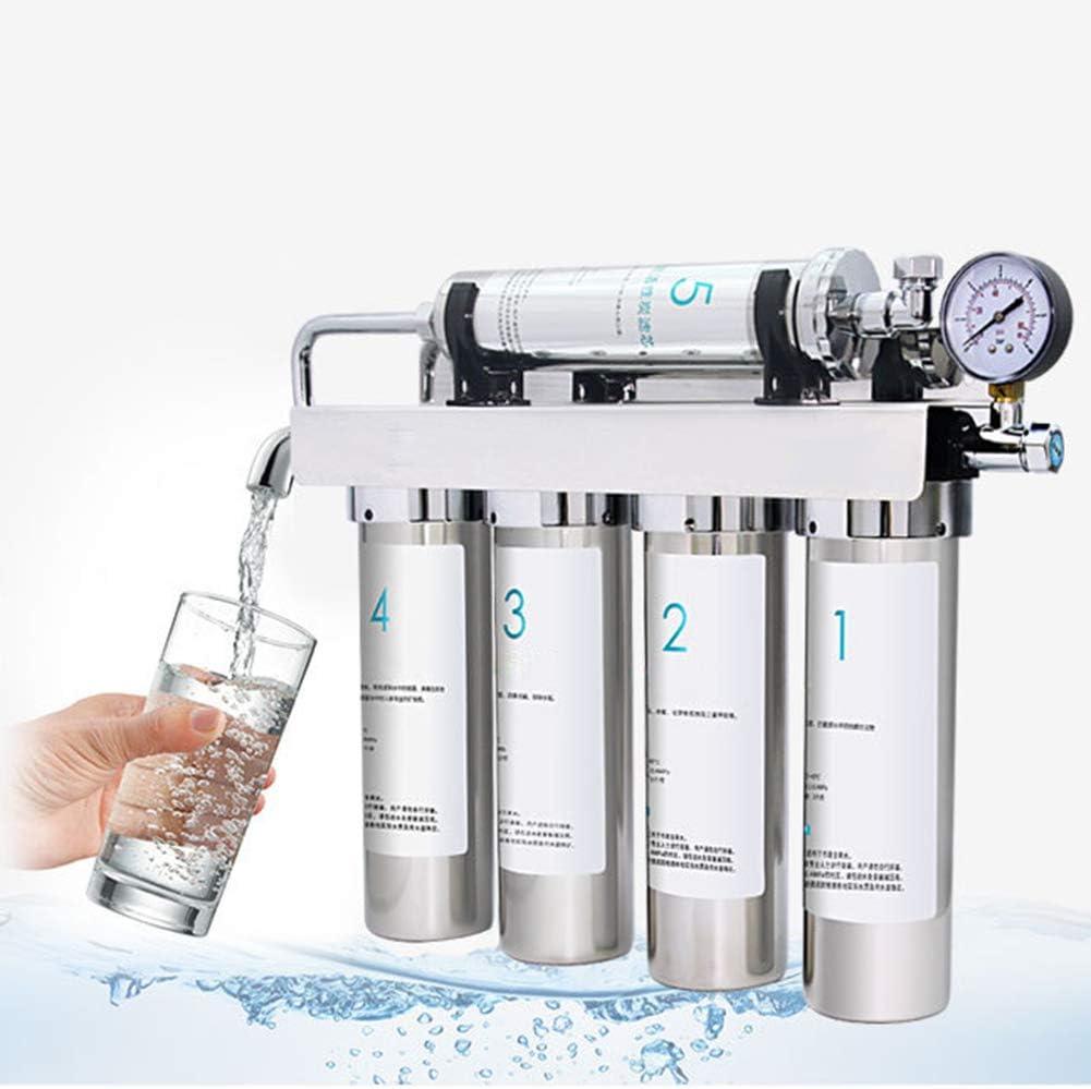DMZH 5 etapas Sistema de filtración de Agua Acero Inoxidable ...
