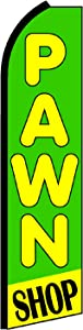 NEOPlex Pawn Shop Swooper Flag