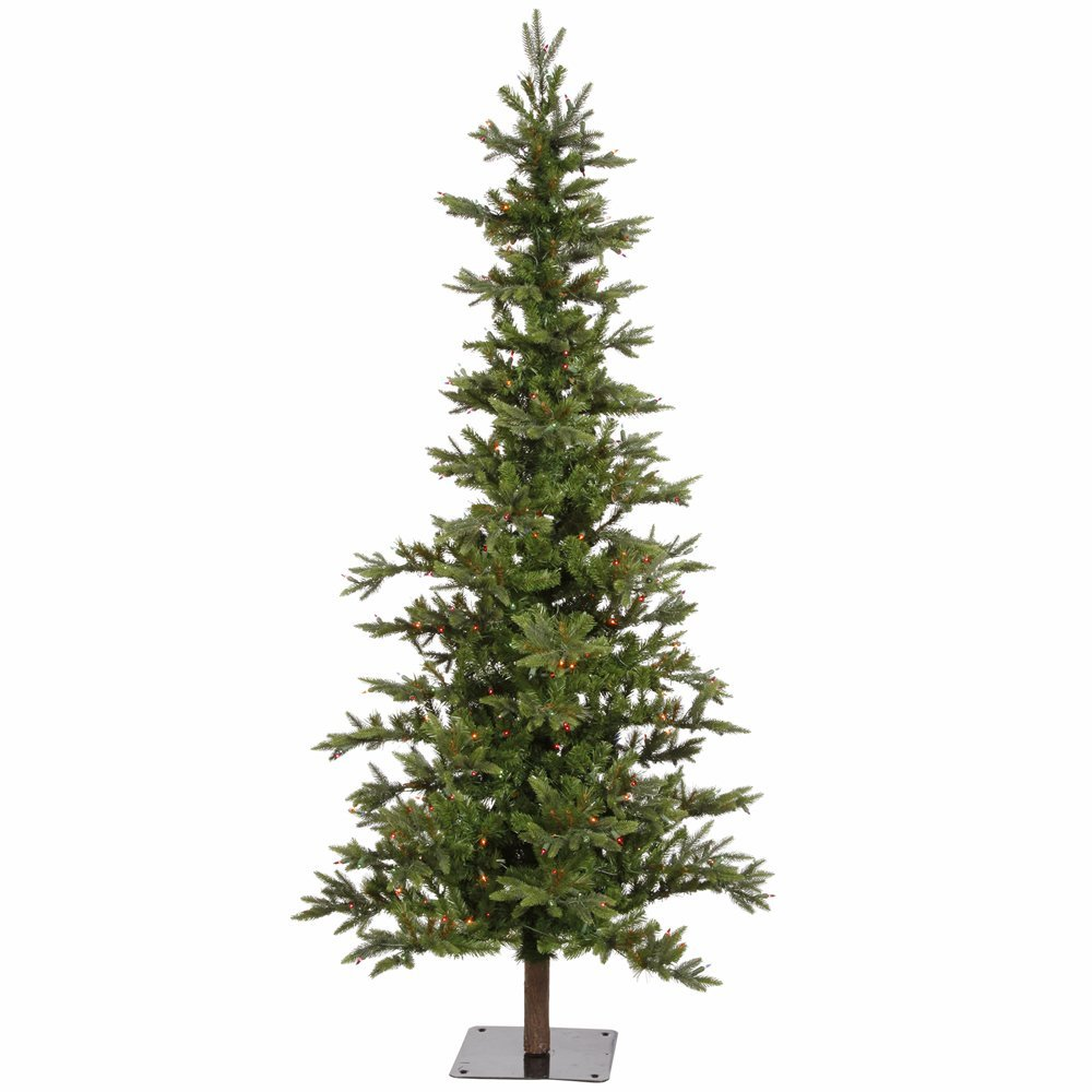 Amazon.com: Vickerman Shawnee Fir Artificial Christmas Tree with 450 ...