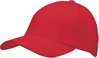 product image for Bayside Structured Twill Cap (BA3660)- RED,OS