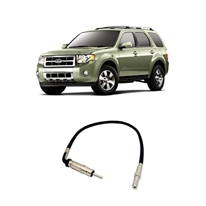 Fits Ford Escape 2008-2012 Factory Stereo to Aftermarket Radio Antenna  Adapter Plug
