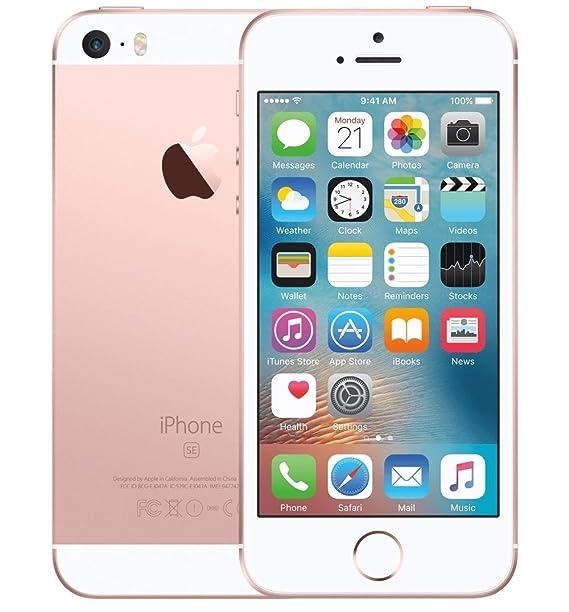 Amazon Com Apple Iphone Se Gsm Unlocked 64gb Rose Gold