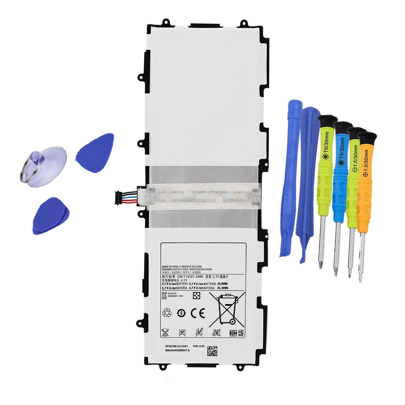 Bateria Dentsing 3.7v 25.9wh/7000mah Sp3676b1a 1s2p Tablet Para Samsung Galaxy Tab 10.1 Gt-p7500 P7510 Tab 2 10.1 Gt-p51