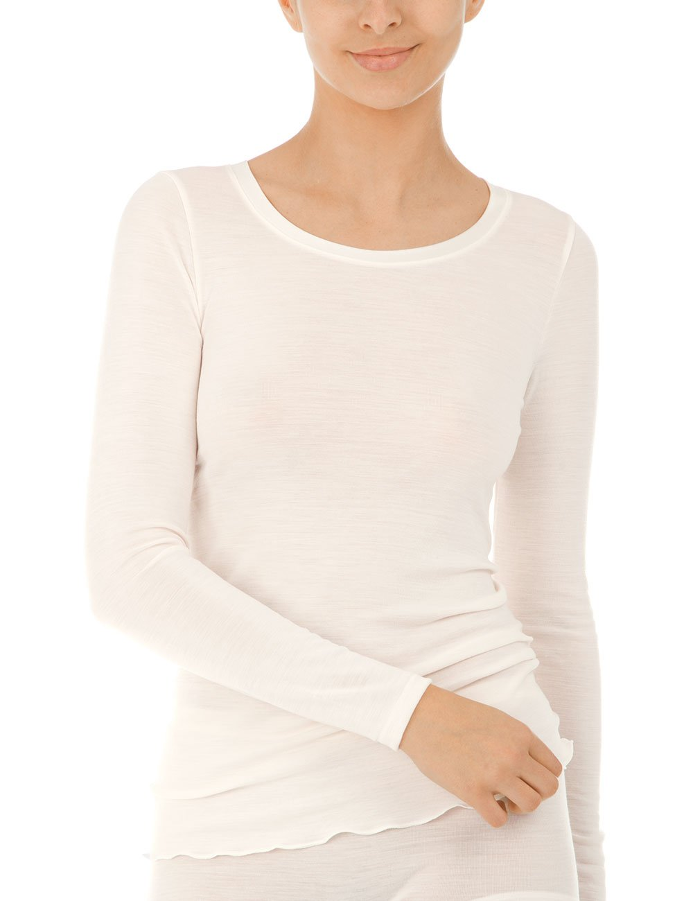 Calida Damen Unterhemd True Confidence Top Langarm: Amazon.de: Bekleidung
