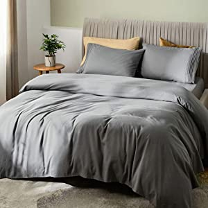 SONORO KATE Bed Sheet Set Bamboo Sheets Deep Pockets 16