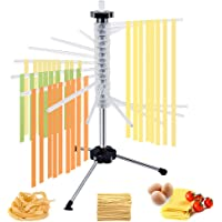 "CHEFLY Foldable Pasta Drying Rack Noodle Dryer 17.87"" Height for Long Spaghetti Fettuccine Lasagne Sheets P1803"