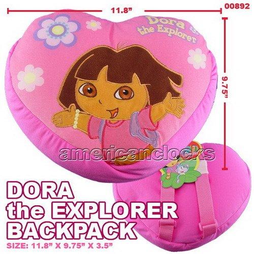 Nickelodeon Dora Plush Backpack (Disney Hannah Montana Stationery)