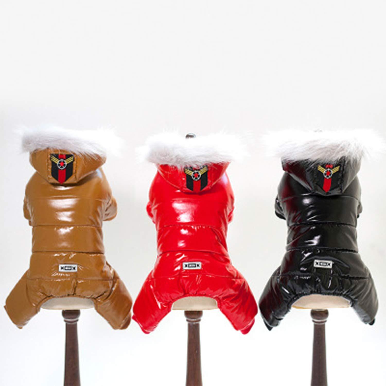LOVEPET Ropa para Perros Sudaderas con Capucha Gruesas De Invierno Invierno Invierno Abrigo De Algodoacute;n con Cuatro Patas Viento Y Nieve. Ropa De Perro Pequentilde;o Ropa para Mascotas 717850