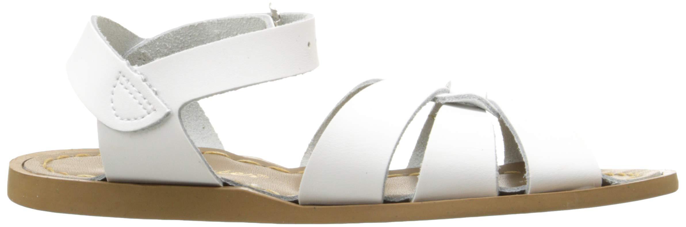 Salt Water Sandals by Hoy Shoe Original Sandal (Toddler/Little Kid/Big Kid/Women's), White, 13 M US Little Kid by Salt Water Sandals (Image #7)