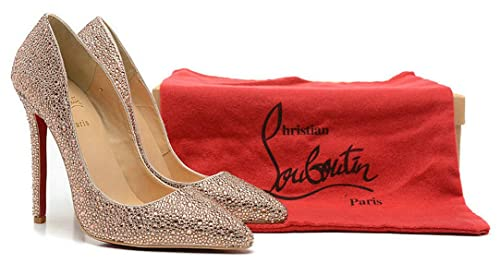 official photos 8beae 357ee Christian Louboutin CL Decollete 554 Strass 100&120Mm ...