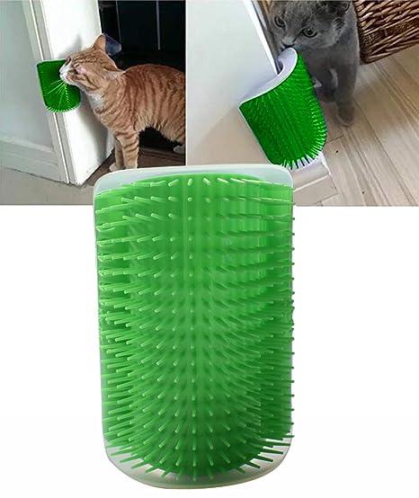 Morezi Cepillo de Pelo para Mascotas, Gatos, Gatos y Gatos con Cepillo de Masaje