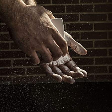 Diuspeed Polvo Antideslizante, Sports Anti-dérapage Polvo de magnesio Polvo Antideslizante para la Gimnasia Escalada de la Roche bádminton: Amazon.es: Hogar