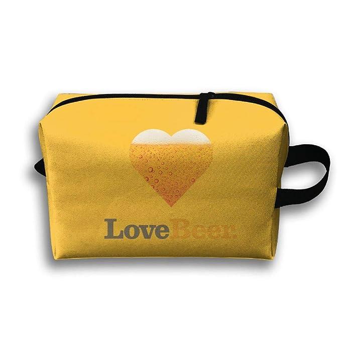 Amazon.com: Bolsa de almacenamiento bolsa de viaje I Love ...