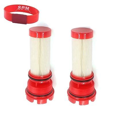 SPM 2PCS Fuel Filter for Mercury Verado Outboard Motors 35-8M0060041 35-8M0020349 35-884380T