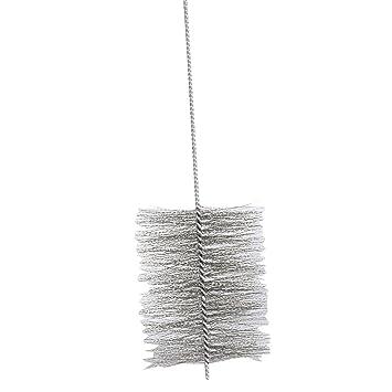 Kamino - Flam – Cepillo deshollinador para limpiar estufas, hornos de leña, chimeneas,