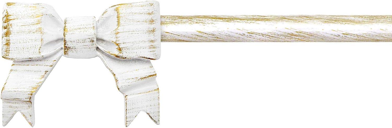 AT17 Bastone per Tende Estensibile Shabby Chic Gold Cadeaux Collection 120-210 cm