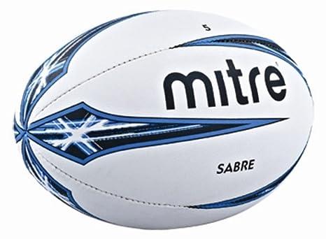 Rugby Pallone da Rugby per Allenamento Uomo Casinò e attrezzature Mitre Sabre