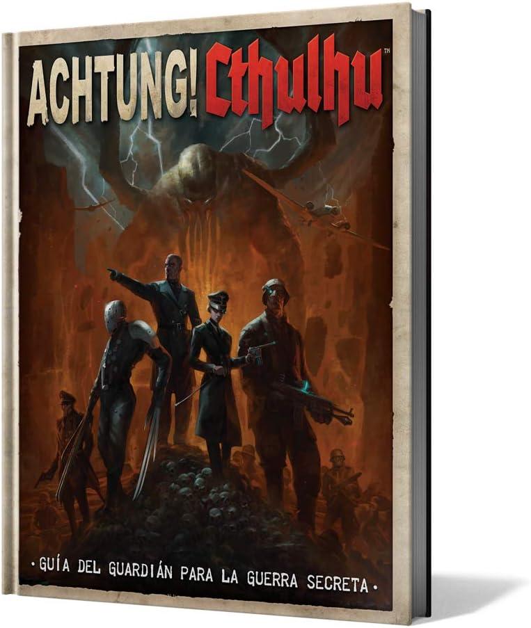 Edge Entertainment-Achtung Cthulhu: guía del guardián para la Guerra Secreta-español, Color (EEMOAC01): Amazon.es: Juguetes y juegos