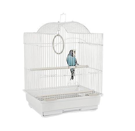 Jaulas de selva Panama pequeña jaula de pájaros: Amazon.es ...