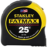 Deals on Stanley FatMax 25 ft. L x 1.25 in. W Tape Measure