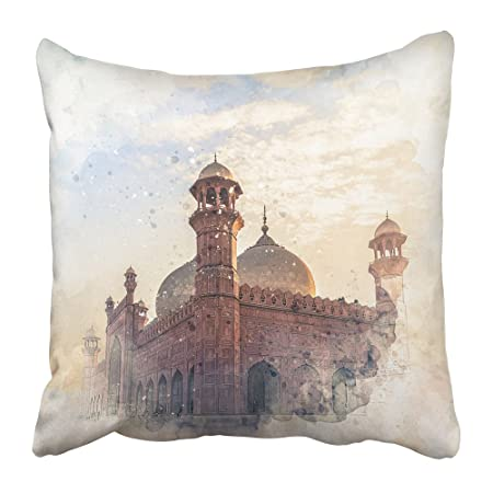 Emvency Throw Pillow Cover Square 20x20 Inches Pakistan