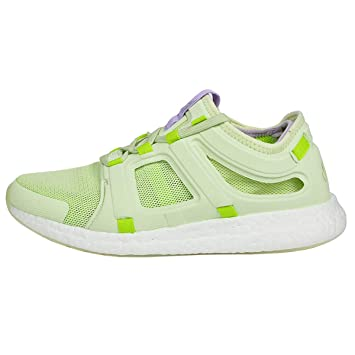 pretty nice f01d1 c1cb3 adidas Women CC Rocket Boost Fitness Shoe Running Shoes Light Green - White  4,5
