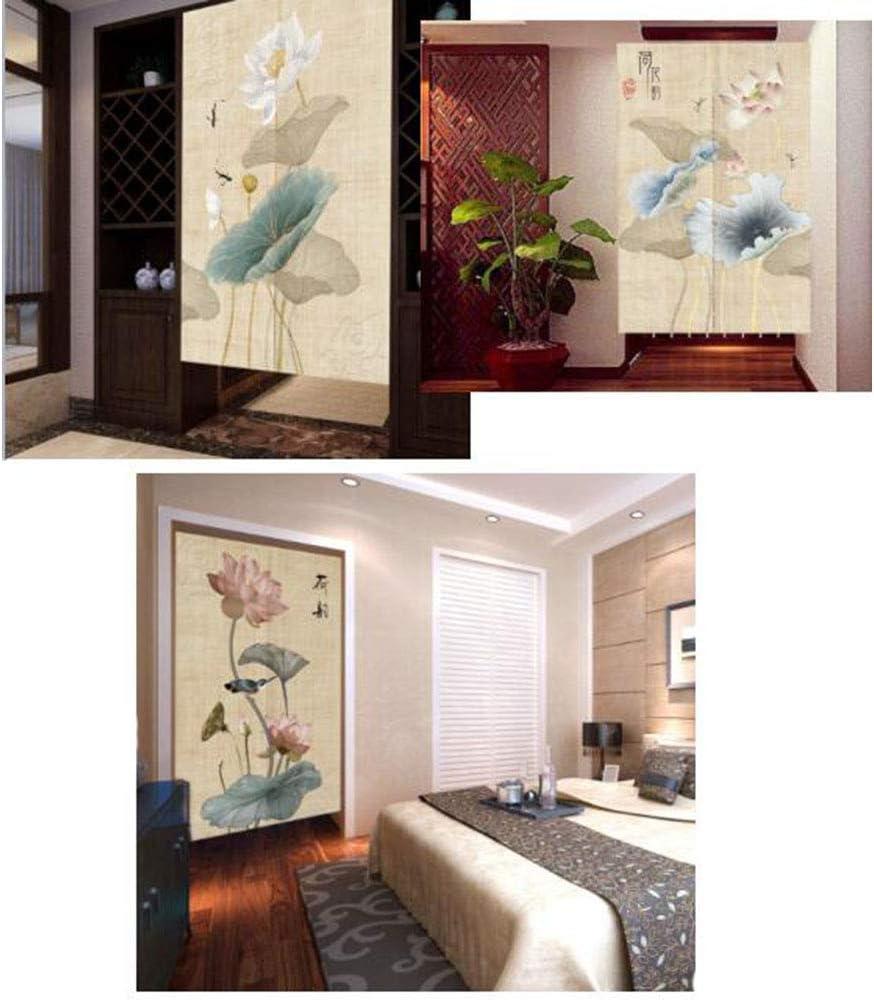 Wukong Paradise Toilettes de Noren Japonais /à Porte de Style Chinois Rideaux de Chambre /à Coucher Rideaux A15