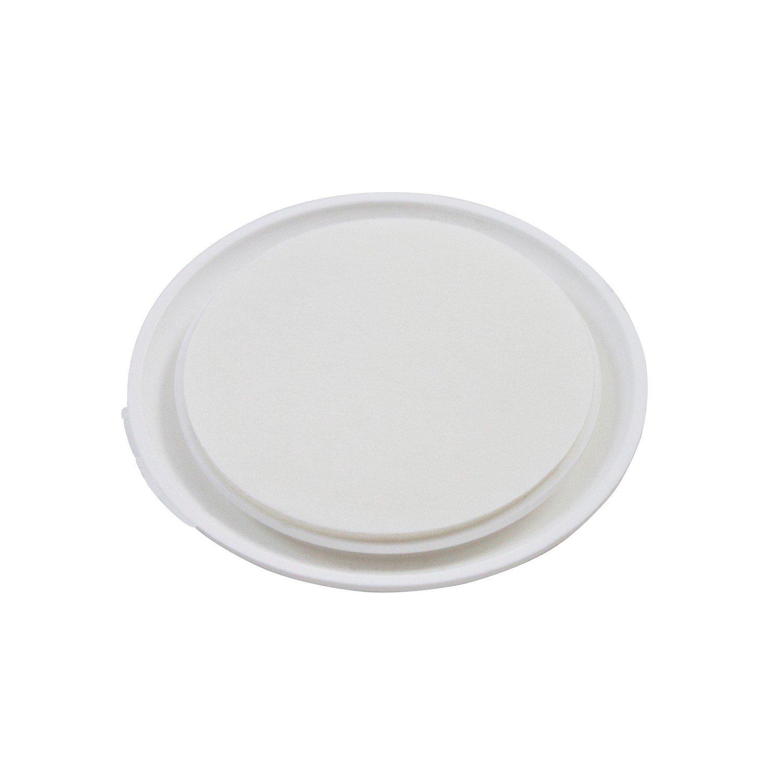 Home Xpert Hansi Porte Tampon 10/Diam/ètre 40/mm Lot de 10/x502201/ /Blanc Lot de 10 X502201-4
