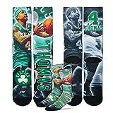 Isaiah Thomas Boston Celtics NBA Drive Crew Socks Men's Size Medium 5-10