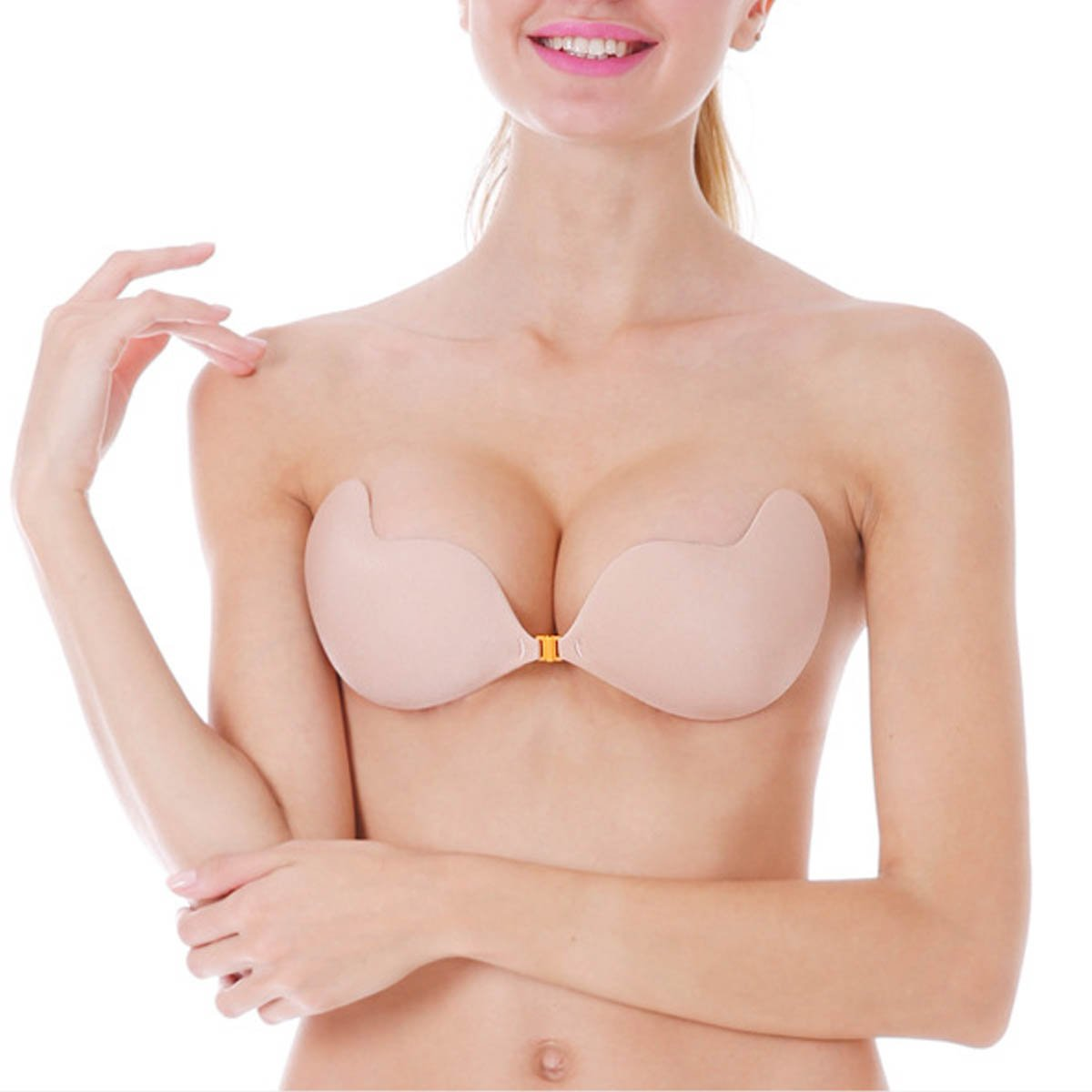 3d990697f0 ONine Strapless Self Adhesive Bra Invisible Backless Push Up Sticky Bras  for Women
