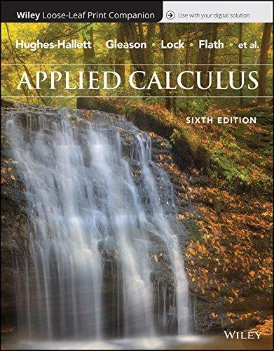 Applied Calculus, 6e WileyPLUS + Loose-leaf