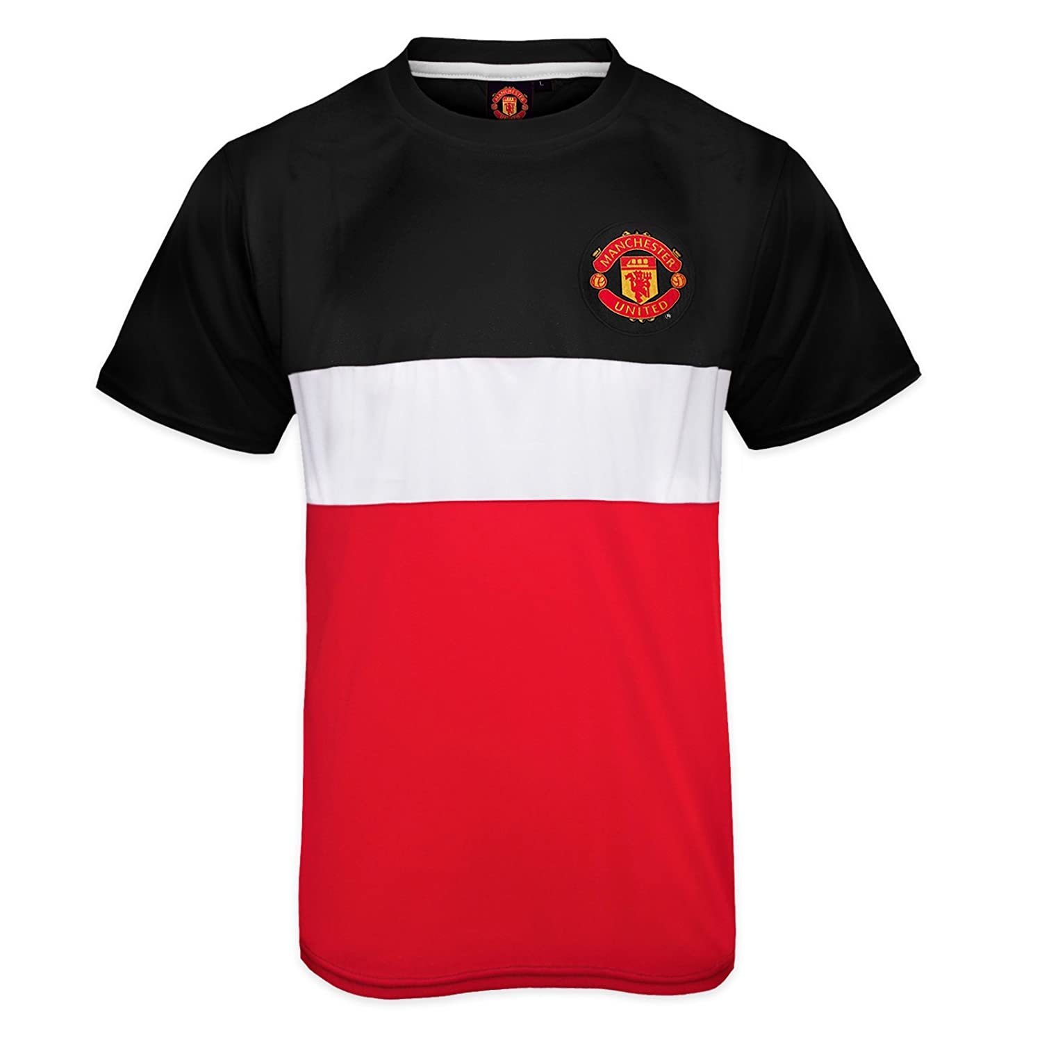 92baed9cb free shipping Manchester United Football Club Official Soccer Gift Mens  Poly Kit T-Shirt