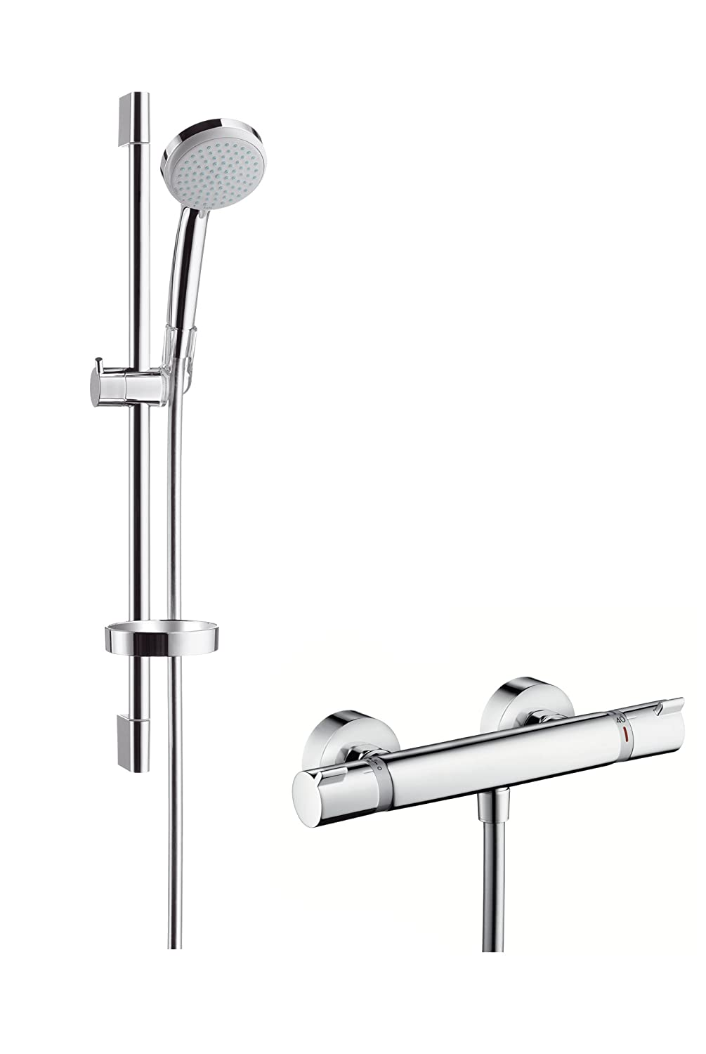 Amazon Com Hansgrohe Croma 100 Vario Ecosmart 27032000 Shower Set
