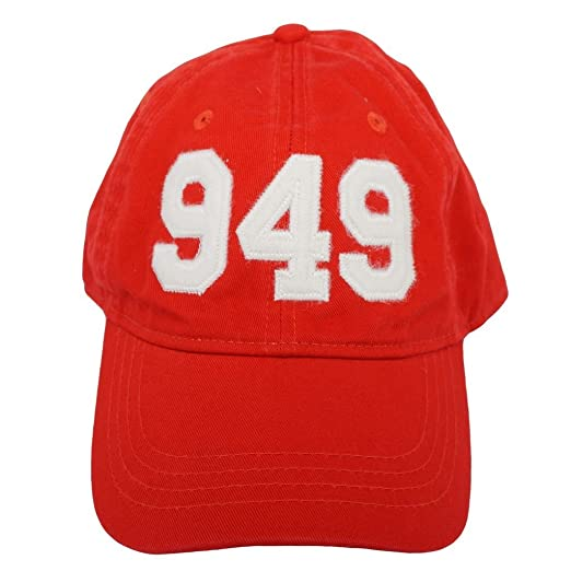 Cotton Adjustabe Fit Cap Unconstructed Low Profile 949 Orange County Area Code Felt Logo