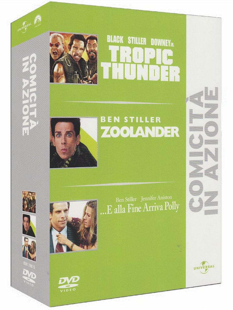 Amazon.com: Tropic Thunder / Zoolander / E Alla Fine Arriva Polly ...