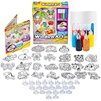Creative Kids Window Paint Art Stickers Kit Kids