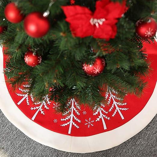 Dogggy - Falda para árbol de Navidad, diseño de Copo de Nieve ...
