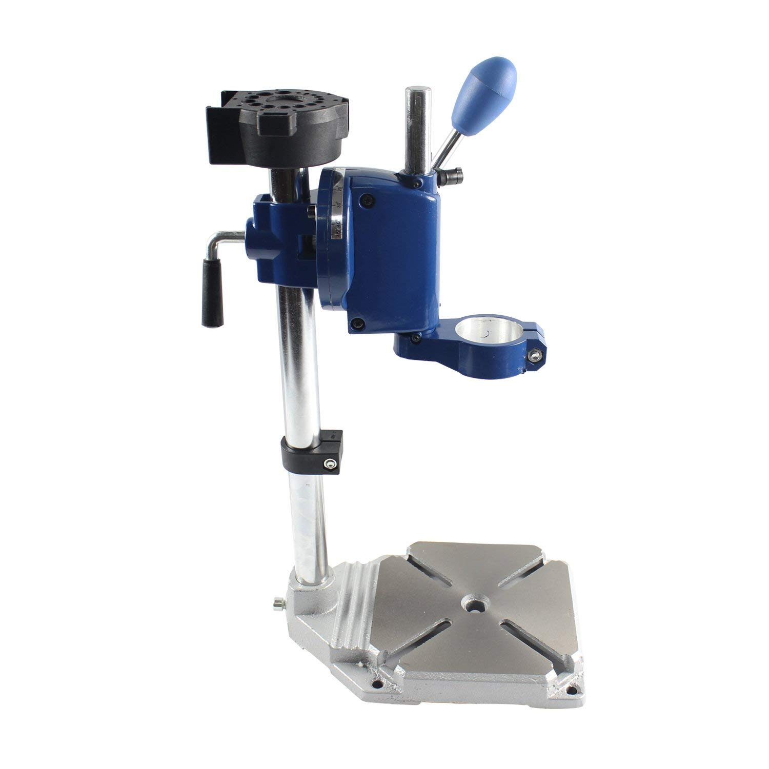 0-90 degrees HUBEST New Design Drill Press Drill Holder for Hand Drill Engraving Machine Electrical drill stand Drilling Collet Table 25-43mm
