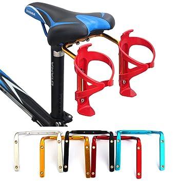 queenbox® ciclismo carretera bicicleta de montaña bicicleta aleación de aluminio botella de agua doble titulares