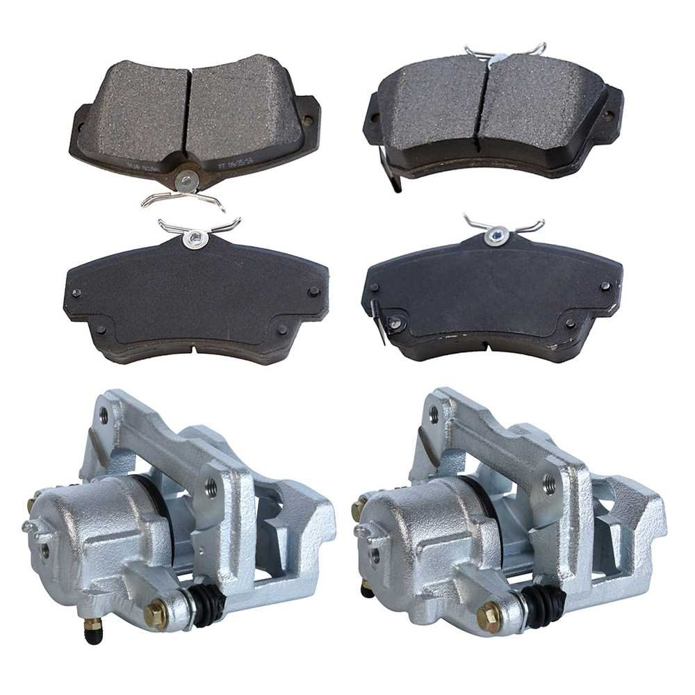 AutoShack BC6300PR Rear Brake Caliper Pair