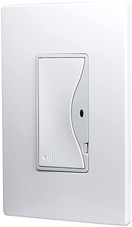 Eaton RF9518AW ASPIRE RF Single-Pole Wireless Light Switch, 8-Amp ...