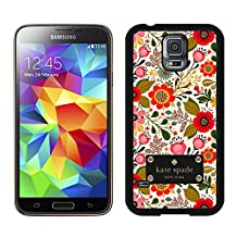 Most Popular Custom Samsung S5 Case Kate Spade New York Hard Plastic Phone Case For Samsung Galaxy S5 I9600 G900a G900v G900p G900t G900w Cover Case 74 Black